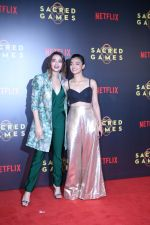 Surveen Chawla, Radhika Apte at the Screening of Netflix Sacred Games in pvr icon Andheri on 28th June 2018