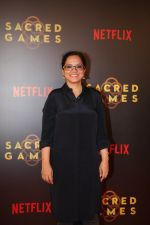 Tanuja Chandra at the Screening of Netflix Sacred Games in pvr icon Andheri on 28th June 2018