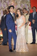Gauri Khan, Aryan Khan at Akash Ambani & Shloka Mehta engagement at Antilia in mumbai on 30th June 2018 (52)_5b38e4ce17322.jpg