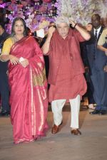 Javed Akhtar, Shabana Azmi at Akash Ambani & Shloka Mehta engagement at Antilia in mumbai on 30th June 2018 (24)_5b38e503aa11b.JPG