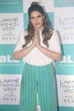 Zareen Khan at Lakme Fashion Week Plus Size Models Auditions in St Regis Hotel, Mumbai on 5th July 2018