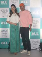 Zareen Khan, Narendra Kumar Ahmed at Lakme Fashion Week Plus Size Models Auditions in St Regis Hotel, Mumbai on 5th July 2018