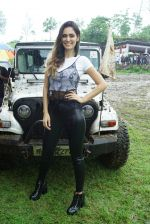 Bruna Abdullah at India's 1st off Roading Rally Mud Skull Adventure on 10th July 2018