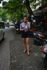 Fatima Sana shaikh spotted at bandra on 12th July 2018