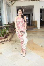 Janhvi Kapoor promote for Dhadak at media interactions in Sun n Sand,juhu on 12th July 2018