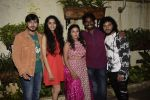 Rutwik Kendre, Monalisa Bhagal, Kailash Waghmare, Ayli Ghiya at the Screening of marathi film Dry Day in sunny sound juhu on 12th July 2018 (25)_5b48553d515cd.JPG