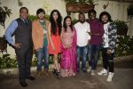 Rutwik Kendre, Monalisa Bhagal, Kailash Waghmare, Pandurang Jadhav, Ayli Ghiya at the Screening of marathi film Dry Day in sunny sound juhu on 12th July 2018 (1)_5b48553ebf05d.JPG