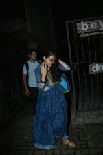 Sara Ali khan spotted at bandra on 12th July2018