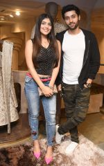 Utkarsh Sharma with Ishita Chauhan at The Launch Of New Brand & Designer Store SOLTEE on 21st July 2018_5b558376cb8e9.JPG