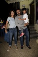 Shilpa Shetty, Raj Kundra with son Viaan at pvr juhu on 24th July 2018 (7)_5b58243e15b5b.JPG
