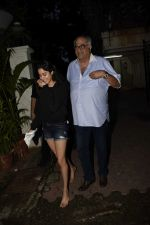 Janhvi Kapoor, Boney Kapoor spotted at Arjun Kapoor_s house in juhu on 25th July 2018 (5)_5b59702a4a1f6.jpg