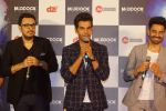 Rajkummar Rao, Aparshakti Khurana, Dinesh Vijan at the Trailer Launch of Film Stree on 27th July 2018 (17)_5b5c1b3100a12.JPG