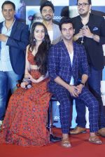 Shraddha Kapoor, Rajkummar Rao, Aparshakti Khurana, Dinesh Vijan at the Trailer Launch of Film Stree on 27th July 2018 (62)_5b5c1b48a85f2.JPG
