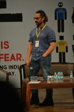 Aamir Khan at the 5th Edition of Indian Screenwriters conference at St Andrews bandra on 1st Aug 2018 (5)_5b62aa17c30dc.JPG
