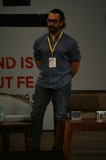 Aamir Khan at the 5th Edition of Indian Screenwriters conference at St Andrews bandra on 1st Aug 2018 (9)_5b62aa24ce432.JPG