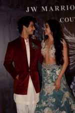 Janhvi Kapoor, Ishaan Khattar at Red Carpet for Manish Malhotra new collection Haute Couture on 1st Aug 2018 (80)_5b62ba65448da.JPG
