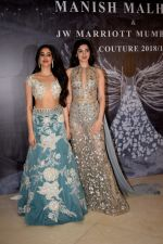 Janhvi Kapoor, Khushi Kapoor at Red Carpet for Manish Malhotra new collection Haute Couture on 1st Aug 2018 (77)_5b62baae871e1.JPG