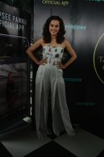 Taapsee Pannu official app launch at bombay adda bandra on 1st Aug 2018 (19)_5b62ab14779fa.JPG