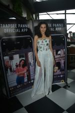 Taapsee Pannu official app launch at bombay adda bandra on 1st Aug 2018 (20)_5b62ab17ef454.JPG