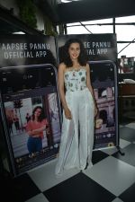 Taapsee Pannu official app launch at bombay adda bandra on 1st Aug 2018 (21)_5b62ab1bebe14.JPG