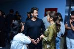 Madhuri Dixit, Anil Kapoor at Fanney Khan screening in Yashraj studios, andheri on 2nd Aug 2018