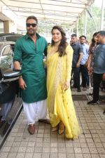 Kajol, Ajay Devgan at the Trailer launch of film Helicopter Eela in pvr juhu on 5th Aug 2018 (7)_5b67d6e1d80b9.JPG