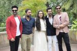 Shraddha Kapoor, Rajkummar Rao, Aparshakti Khurana, Abhishek Banerjee, Amar Kaushik at the promotion for film Stree in Novotel juhu on 7th Aug 2018 (57)_5b6a9806bb413.JPG