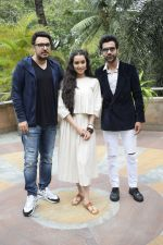 Shraddha Kapoor, Rajkummar Rao, Dinesh Vijan at the promotion for film Stree in Novotel juhu on 7th Aug 2018 (47)_5b6a986e38b6d.JPG