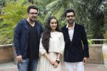 Shraddha Kapoor, Rajkummar Rao, Dinesh Vijan at the promotion for film Stree in Novotel juhu on 7th Aug 2018 (48)_5b6a98707f935.JPG