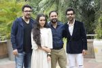 Shraddha Kapoor, Rajkummar Rao, Dinesh Vijan, Amar Kaushik at the promotion for film Stree in Novotel juhu on 7th Aug 2018 (46)_5b6a9872c3c27.JPG