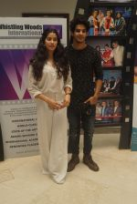 Janhvi Kapoor And Ishaan Khattar with Dhadak team At Whistling Woods Master Class on 8th AUg 2018 (8)_5b6be2d6f0d2a.JPG