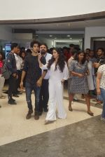 Janhvi Kapoor And Ishaan Khattar with Dhadak team At Whistling Woods Master Class on 8th AUg 2018