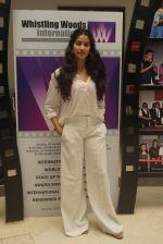Janhvi Kapoor with Dhadak team At Whistling Woods Master Class on 8th AUg 2018