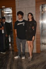Ishaan Khattar, Janhvi Kapoor at the Success Party Of Film Dhadak in Escobar Bandra on 9th Aug 2018