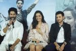 Shraddha Kapoor, Shahid Kapoor,Divyendu Sharma at the trailer launch of film Batti Gul Meter Chalu on 10th Aug 2018 (81)_5b6da01f0b011.JPG