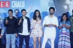 Shraddha Kapoor, Shahid Kapoor,Divyendu Sharma, Bhushan Kumar at the trailer launch of film Batti Gul Meter Chalu on 10th Aug 2018 (29)_5b6da02215a68.JPG