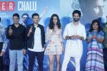 Shraddha Kapoor, Shahid Kapoor,Divyendu Sharma, Bhushan Kumar at the trailer launch of film Batti Gul Meter Chalu on 10th Aug 2018 (30)_5b6d9fa0bc324.JPG