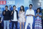 Shraddha Kapoor, Shahid Kapoor,Divyendu Sharma, Bhushan Kumar at the trailer launch of film Batti Gul Meter Chalu on 10th Aug 2018 (31)_5b6da129db8b8.JPG