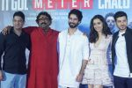 Shraddha Kapoor, Shahid Kapoor,Divyendu Sharma, Shree Narayan Singh, Bhushan Kumar at the trailer launch of film Batti Gul Meter Chalu on 10th Aug 2018 (78)_5b6da02524b69.JPG