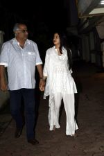 Janhvi Kapoor, Boney Kapoor spotted at Arjun Kapoor_s house in juhu on 11th Aug 2018 (2)_5b712cc5eb1a9.jpg