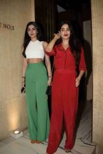 Janhvi Kapoor, Khushi Kapoor at Manish Malhotra's party in his bandra home on 14th Aug 2018
