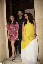 Neha Dhupia, Angad Bedi, Sophie Choudry at Manish Malhotra's party in his bandra home on 14th Aug 2018