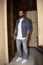 Vicky Kaushal at Manish Malhotra's party in his bandra home on 14th Aug 2018