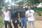 Harshvardhan Rane, Arjun Rampal, Sonu Sood, Gurmeet Choudhary at the promotion of film Paltan in Novotel juhu on 23rd Aug 2018 (1)_5b838cdaf3e21.JPG