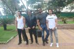 Harshvardhan Rane, Arjun Rampal, Sonu Sood, Gurmeet Choudhary at the promotion of film Paltan in Novotel juhu on 23rd Aug 2018 (40)_5b838ce127f90.JPG