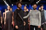 Gurmeet Choudhary walk the ramp for Soumodeep Dutta at Lakme Fashion Show 2018 on 27th Aug 2018