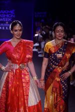 Esha Deol, Hema Malini walk the ramp for 6 degree studio Show at lakme fashion week on 27th Aug 2018 (56)_5b84f1fd2f385.JPG