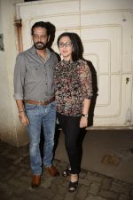 Anup Soni, Juhi Babbar at the Screening of film Gali Guleiyan in sunny sound juhu on 2nd Sept 2018