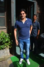 Arbaaz Khan Spotted With Girlfriend & Son At Pali Village Cafe In Bandra on 1st Sept 2018 (11)_5b8cf6f715ce1.JPG