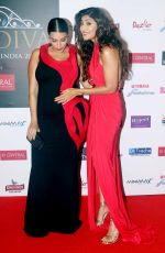 Neha Dhupia, Shilpa Shetty at the Grand Finale of Miss Diva in NSCI worli on 31st Aug 2018